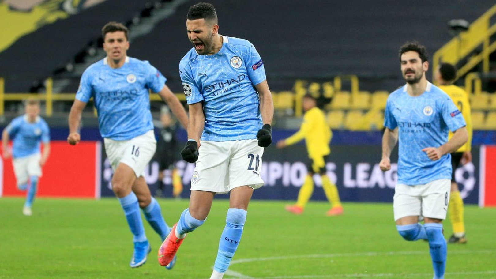 Mahrez: PSG semi-final is the type of occasion you dream of