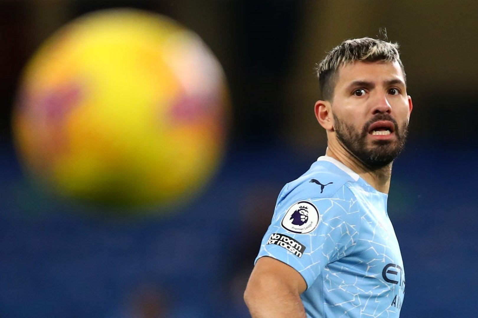 'Fit and firing Aguero crucial for season run in' says Goater