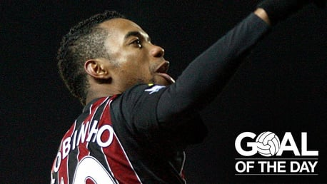 Goal of the Day: Robinho v Blackburn Rovers