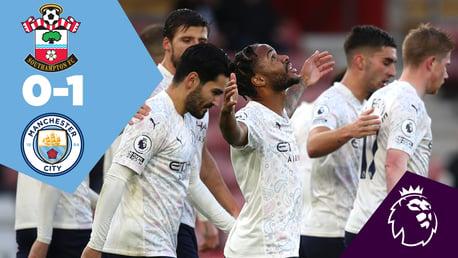 Southampton 0-1 City: Full-match replay