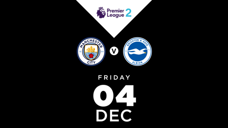 WATCH LIVE: EDS v Brighton live on CITY+