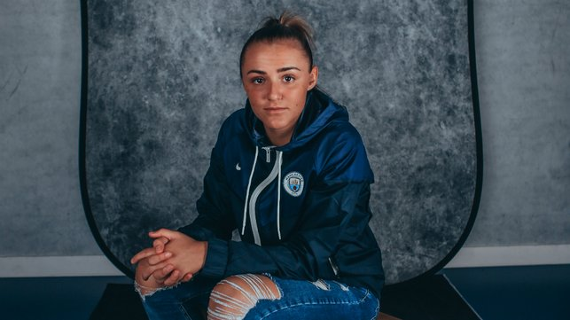 FOCUSED : Georgia Stanway has high hopes - dreams of winning the Ballon d'Or