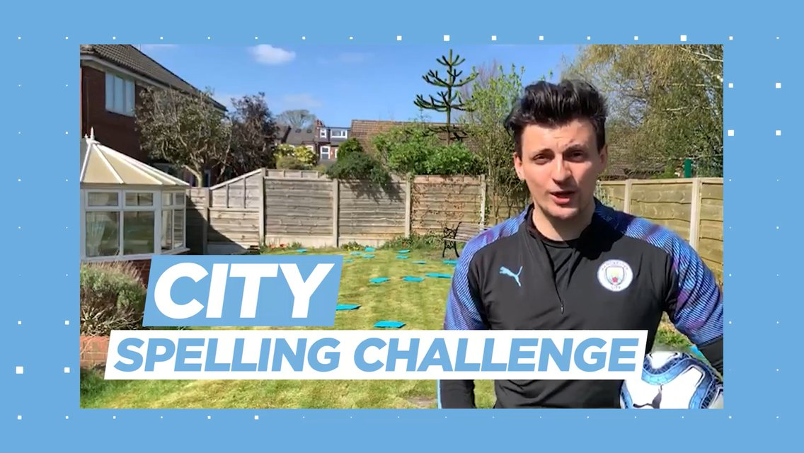 Learning through football: City spelling challenge