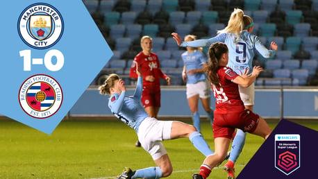 City 1-0 Reading: Full match replay