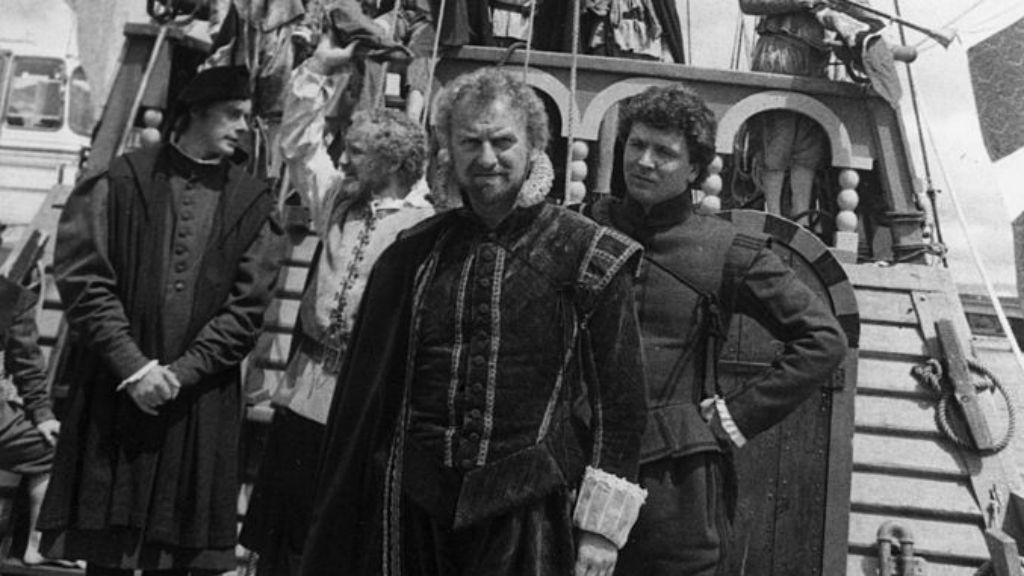 HIGH SEAS ADVENTURE : John Thaw playing Sir Francis Drake in Drake's Venture