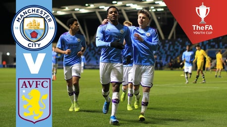 LIVE: Watch City U18s in the FA Youth Cup fourth round.