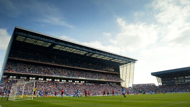MEMORIES : The famous stand back in 2002.