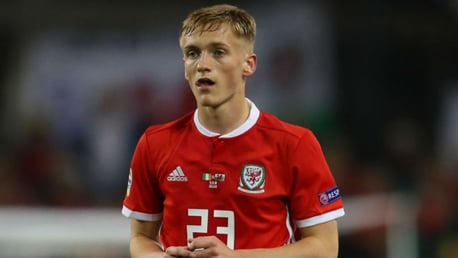 NIGHT TO REMEMBER: Matt Smith made his first full start for Wales in the Dragons' 1-0 Nations League win over the Republic of Ireland