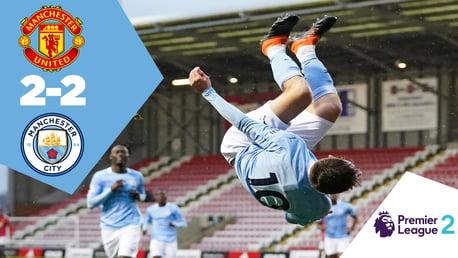 Full-match replay: United U23s 2-2 City EDS