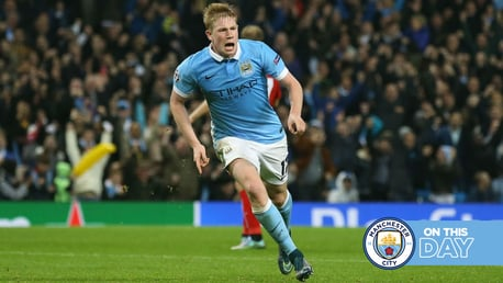 On this day: City meet the Poznan, KDB's a last-gasp hero and Kun equals record