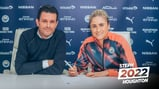 CAPTAIN FANTASTIC: Steph Houghton puts pen to paper on a new deal