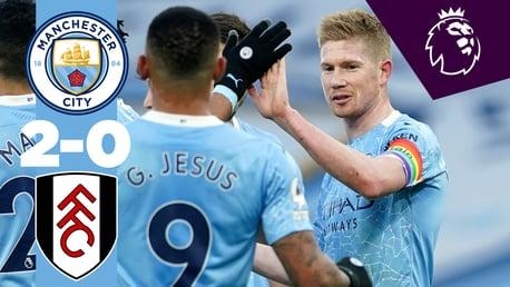 Full match replay: City 2-0 Fulham