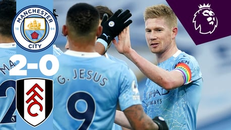 Full match replay: City 2-0 Fulham