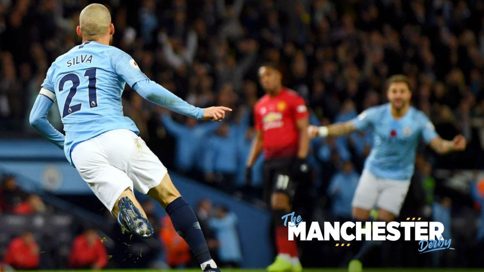 Silva salvo: David Silva's derby highlights