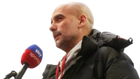 Guardiola: 'O De Bruyne está muito melhor'.