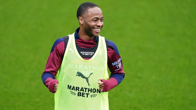 STERLING SMILE: Spirits are high ahead of the Saints' visit!
