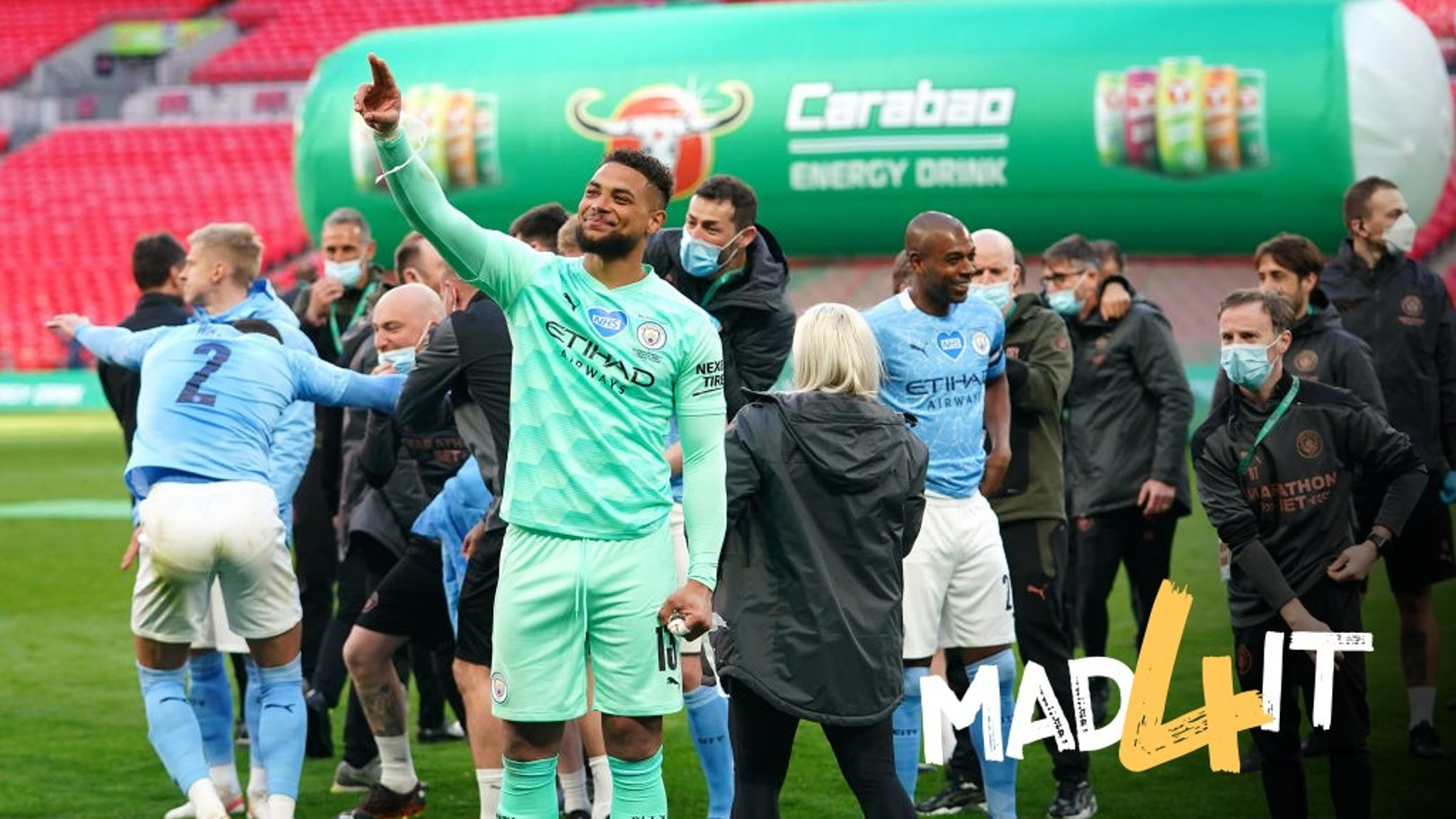 Morrison and Goater hand Carabao Cup plaudits to Steffen