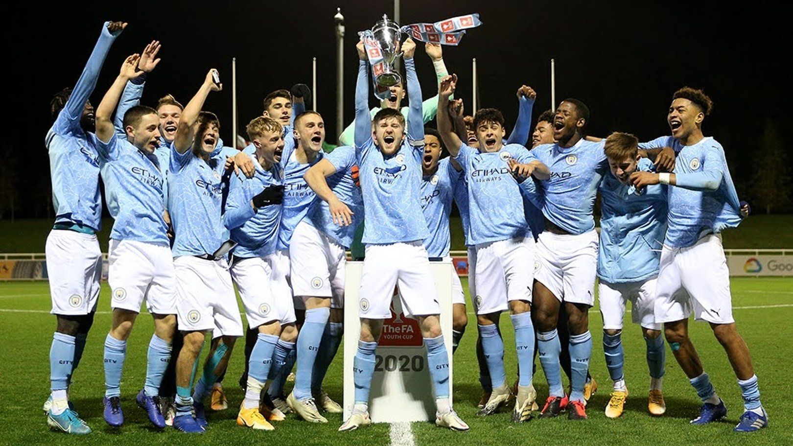 Guardiola pays tribute to FA Youth Cup winning side
