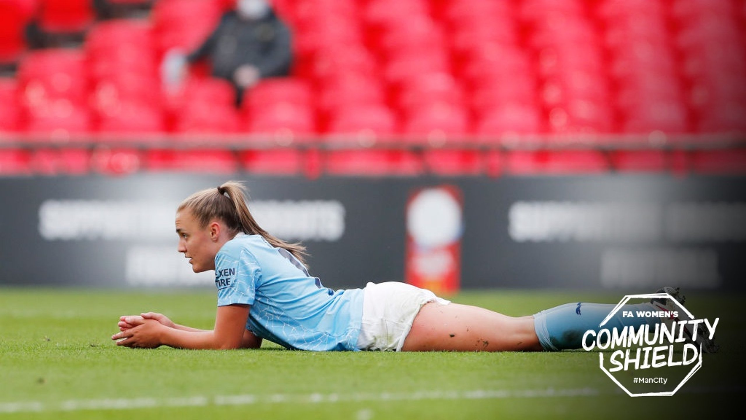 SLENDER DEFEAT: City lost out to Chelsea in the Community Shield at Wembley.