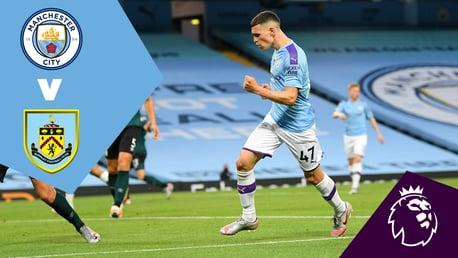 Ulangan Penuh Pertandingan: City 5-0 Burnley