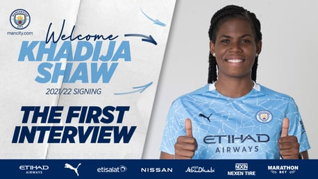 Shaw: I can't wait to get started at City!