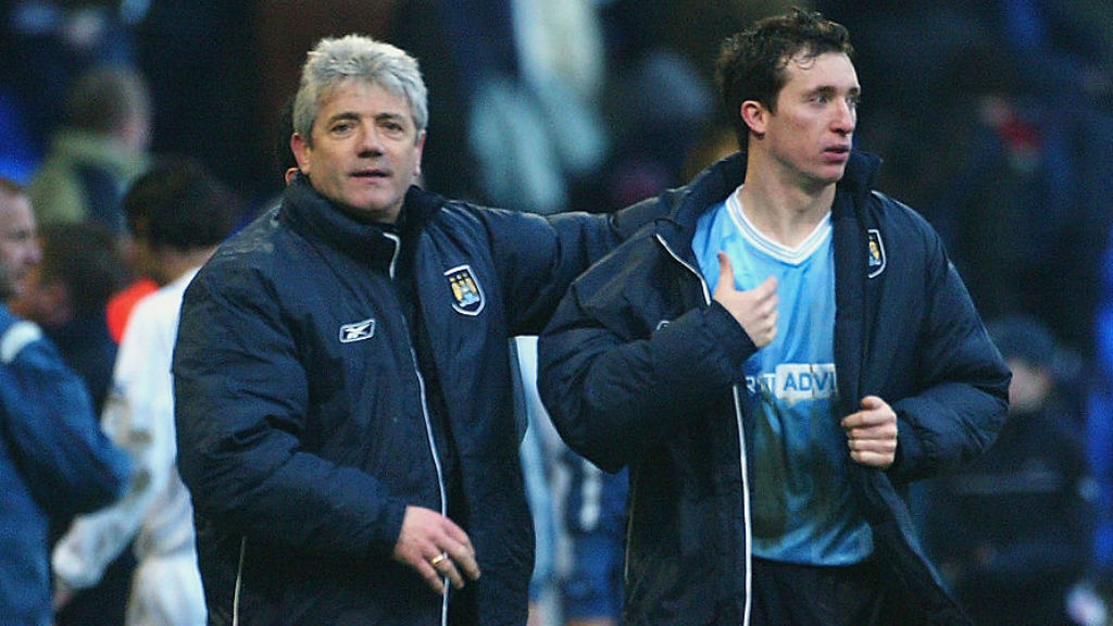 TWO'S COMPANY: Kevin Keegan with Robbie Fowler after a win at Bolton in 2004