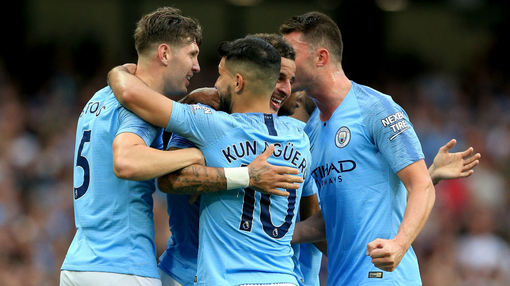 SMILE KYLE! City get back in the lead thanks to Kyle Walker_