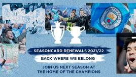 Seasoncard Renewals 2021/22