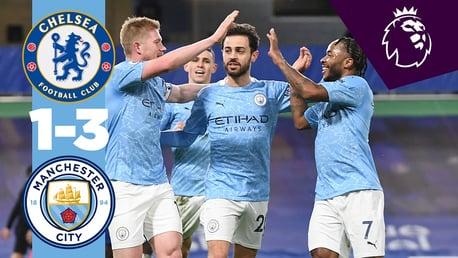 Chelsea 1-3 City: Cuplikan Singkat