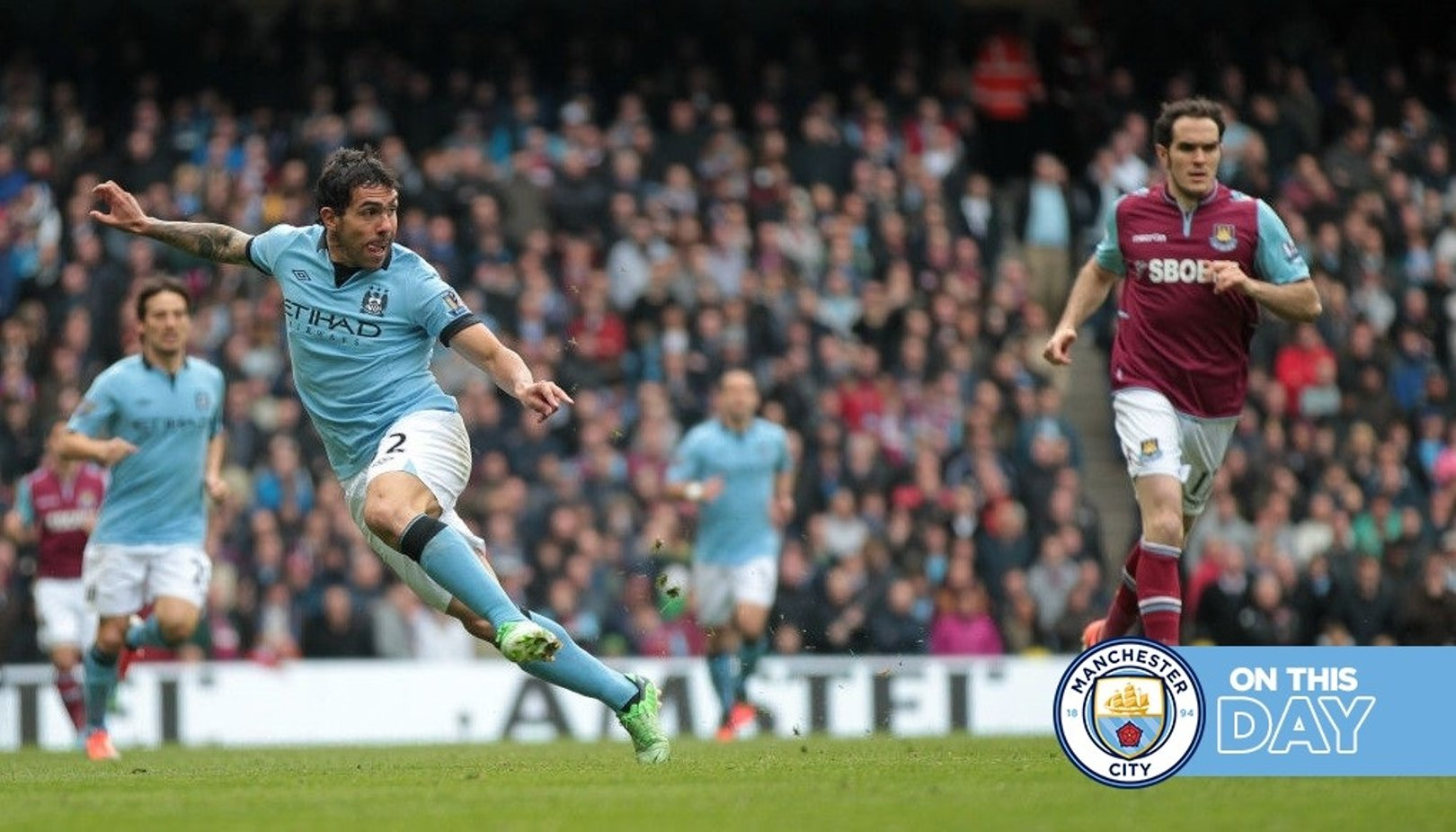 On this day: Tevez double sees off Hammers and Marsh's stunner