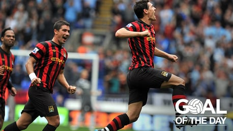 WAAAAY OUT: Gareth Barry produces a blinder against Bolton