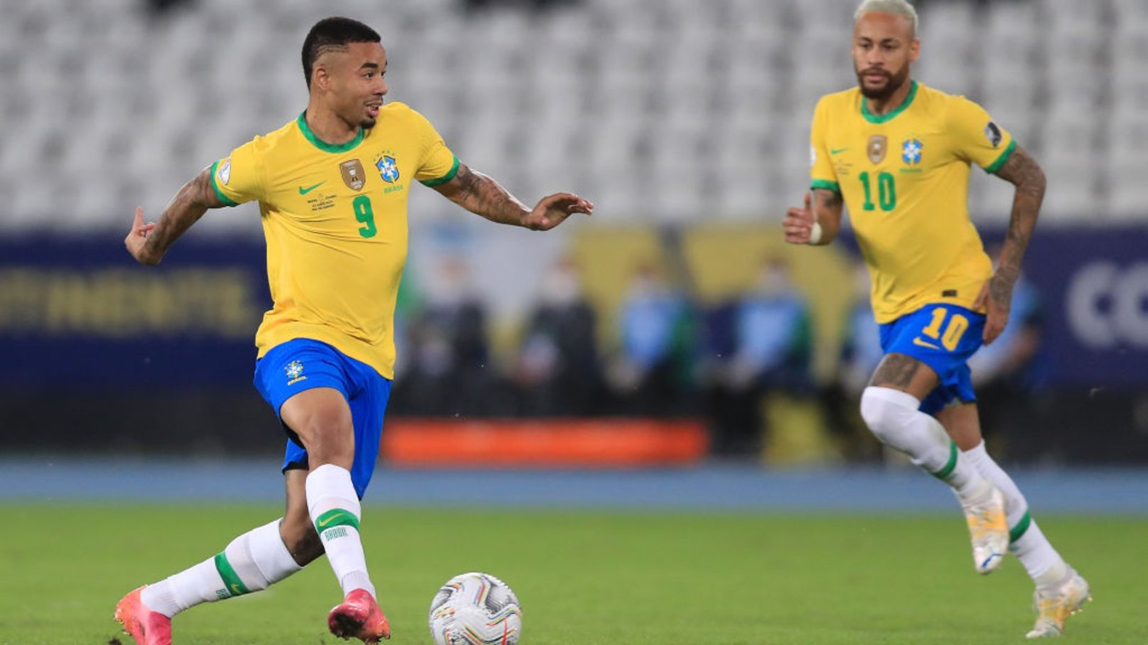 Jesus stars as Brazil earn late Copa America win