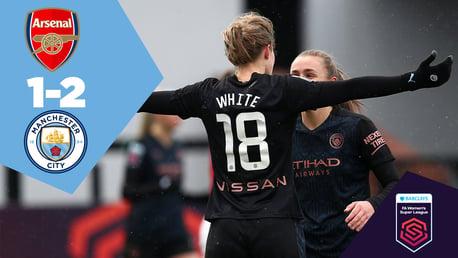 Arsenal 1-2 City: Full-match replay