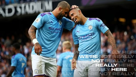 Jesus and Walker preview our FA Cup semi-final