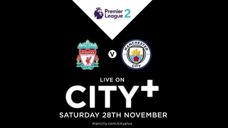 Watch EDS away at Liverpool on CITY+