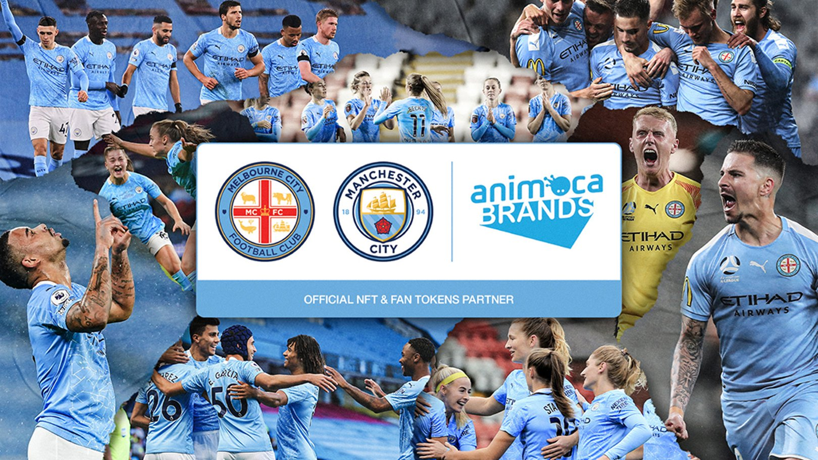 Animoca Brands team up with City and Melbourne City