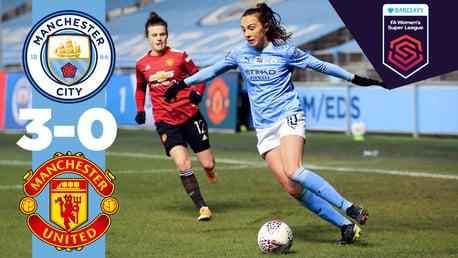 Match highlights: City 3-0 United