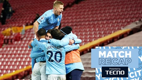 Liverpool 1-4 City: Match Recap
