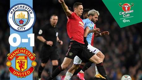 City 0-1 United: Full match replay