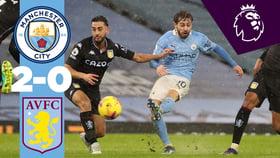 City 2-0 Aston Villa: resumen breve