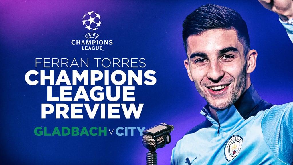 Ferran Torres commentates on his Champions League goals