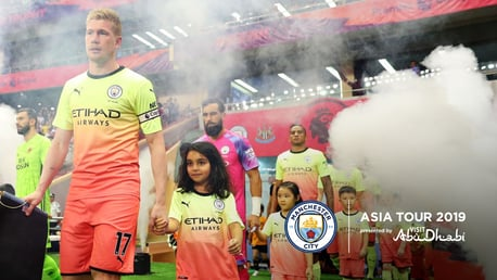 BRIGHT START: City donned their new third kit