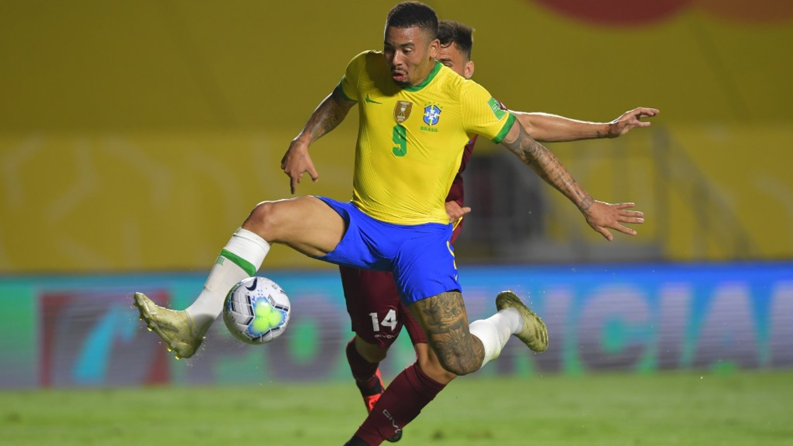 Ederson and Jesus help Brazil to victory