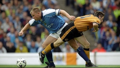 BATTLE: Andy Morrison has tackled issues away from football.