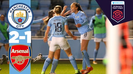 Match highlights: City 2-1 Arsenal