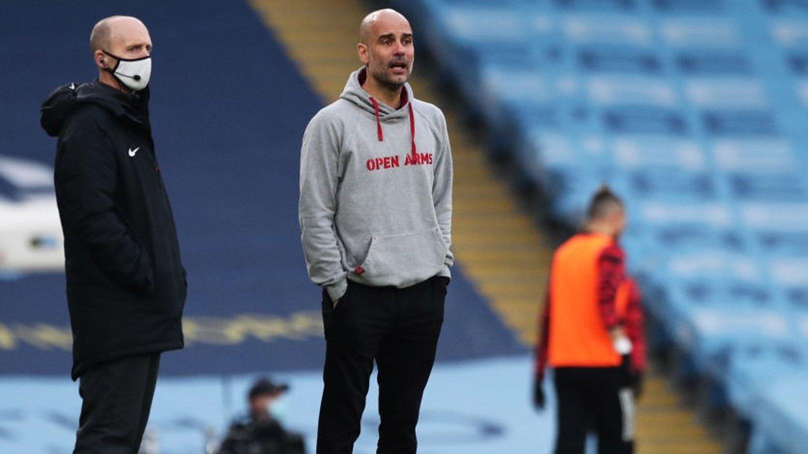 Guardiola: City vai reagrupar e focar na luta pelo título