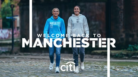 Welcome back to Manchester: Lucy Bronze and Alex Greenwood