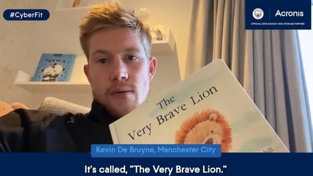 Story time with Kevin De Bruyne