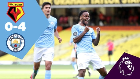 Watford 0-4 City: Full-match replay