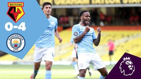 Watford 0-4 City: Full-match replay